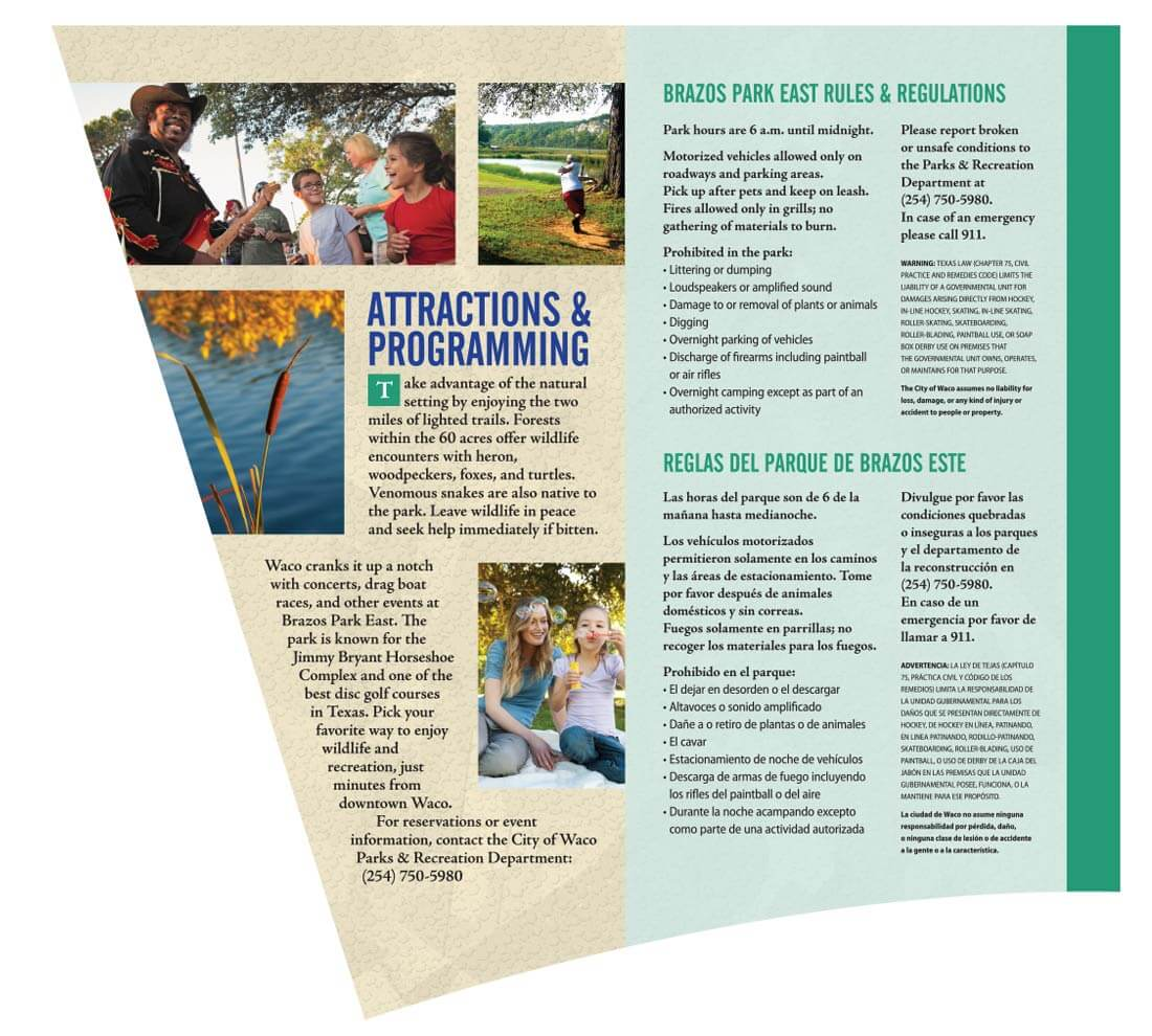 Previous Project - Environmental Graphics — McKinleyBrown & Bradley — Waco, Texas